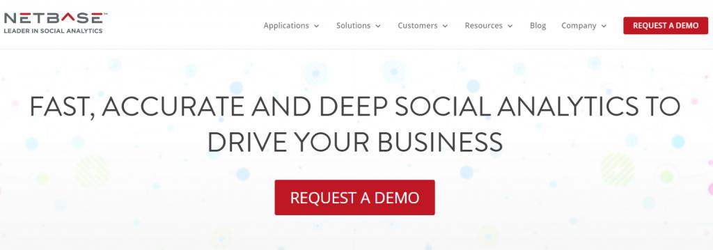 Netbase - Top 25 Social Media Analytics and Monitoring Tools