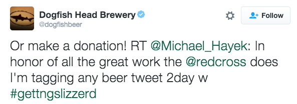 Dogfish Head Brewery - 10 Trend and Campaign Hashtag Fails by Big Brands