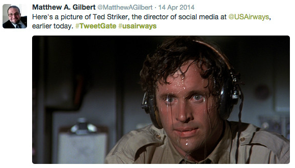USAirwaysTweet2 - 10 Brutal Trend and Campaign Hashtag Fails by Big Brands