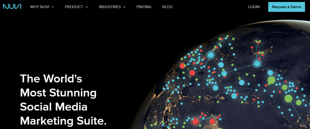 Nuvi - Top 25 Social Media Monitoring Tools