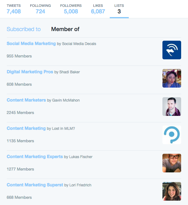 Make Lists - 75 Twitter for Business Uses