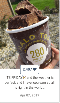 Fitcrunch for Keyhole - Halo Top Partnership