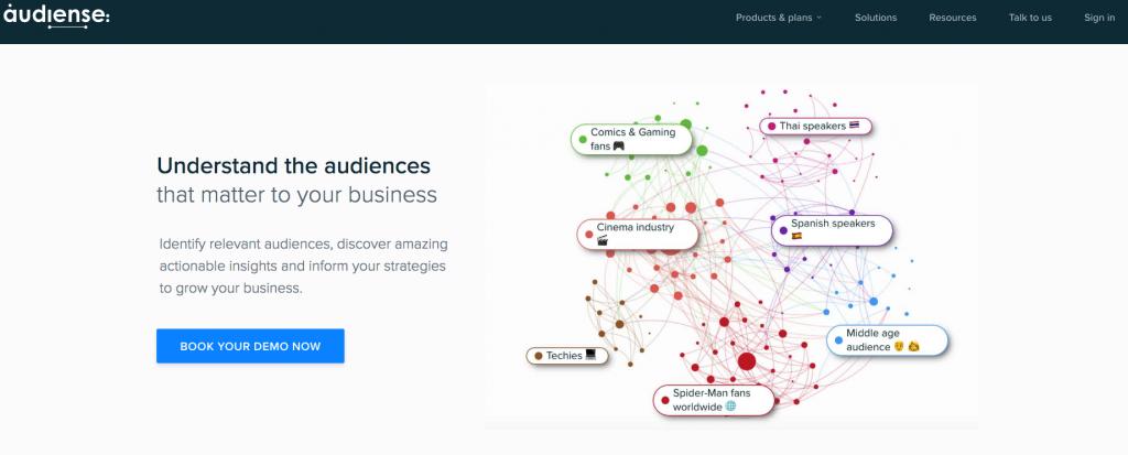Audiense_screenshot_july2019