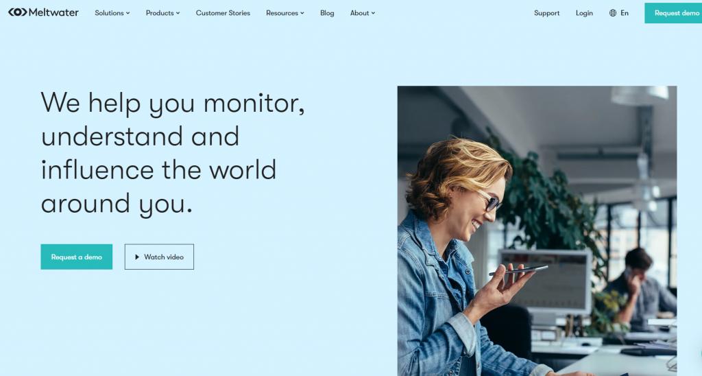Meltwater - social media analysis tools