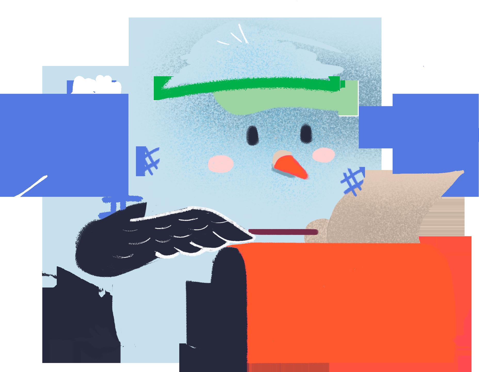 Social-media-reporting