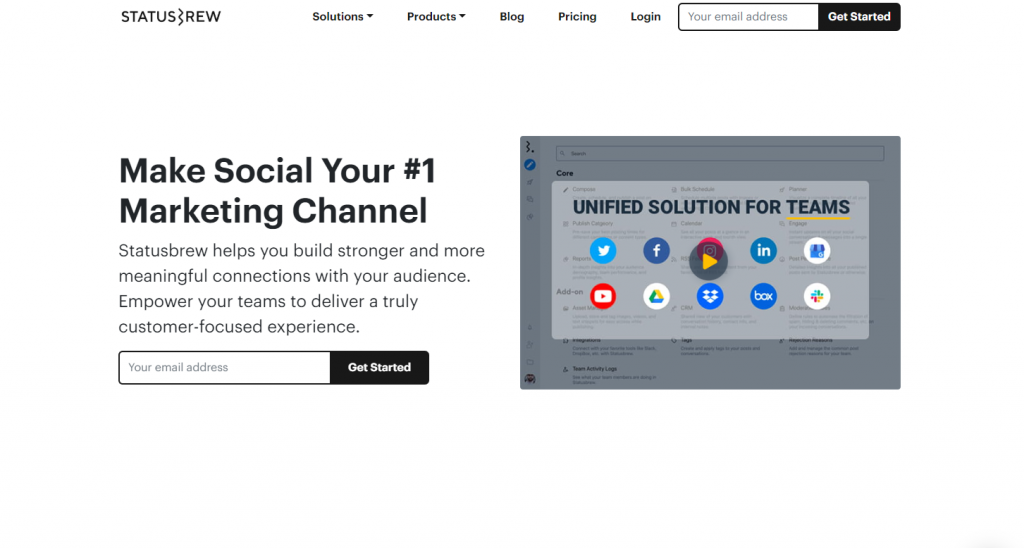 Social Media Tools - Social Listening Tools - Statusbrew