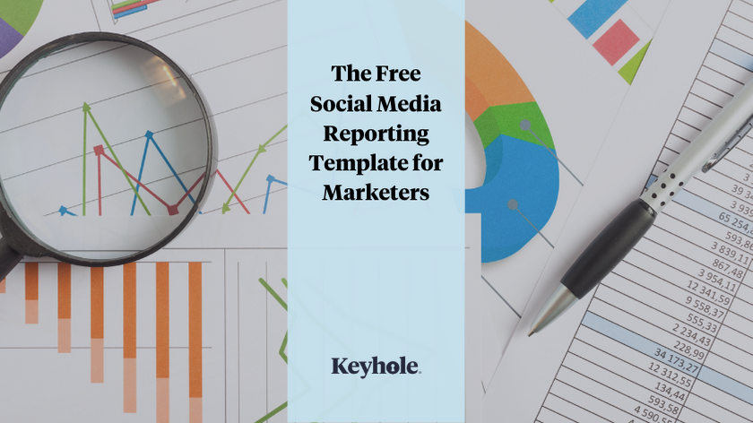 The Free Social Media Reporting Template for Marketers