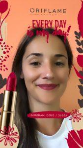 Oriflame Lipstick Instagram Filter