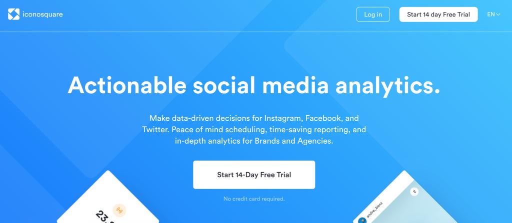 Social Media Analytics Tools - Iconosquare