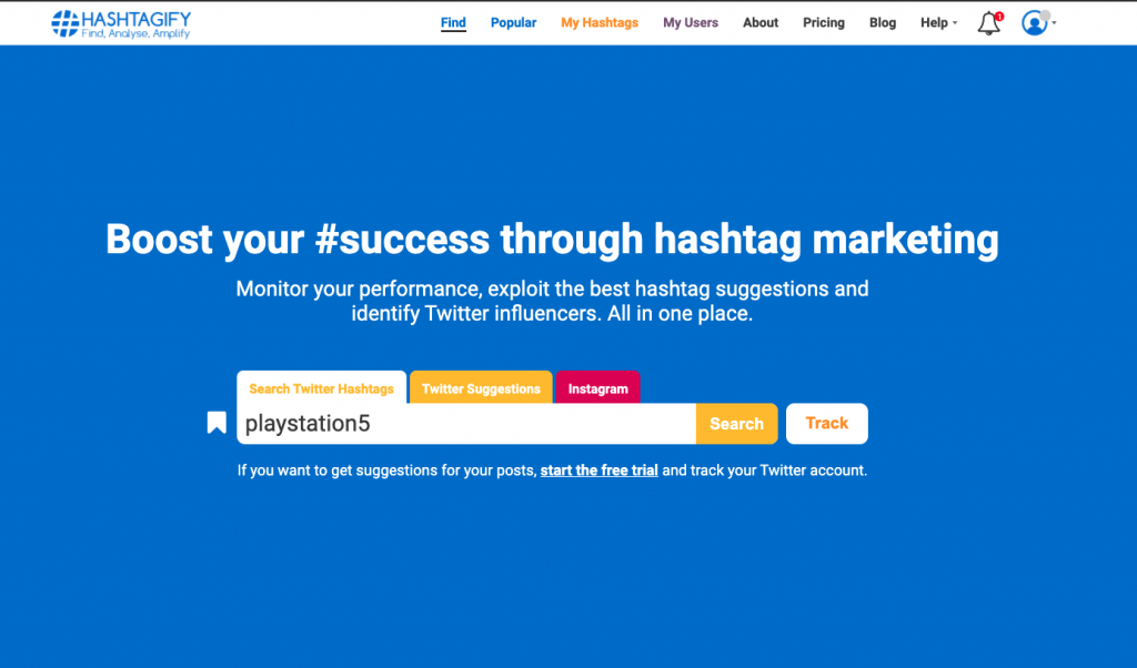 Top Hashtag Analytics Tools - Hashtagify