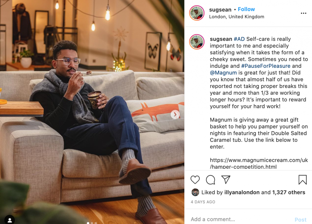 Instagram micro influencer campaign: showcase your product experience